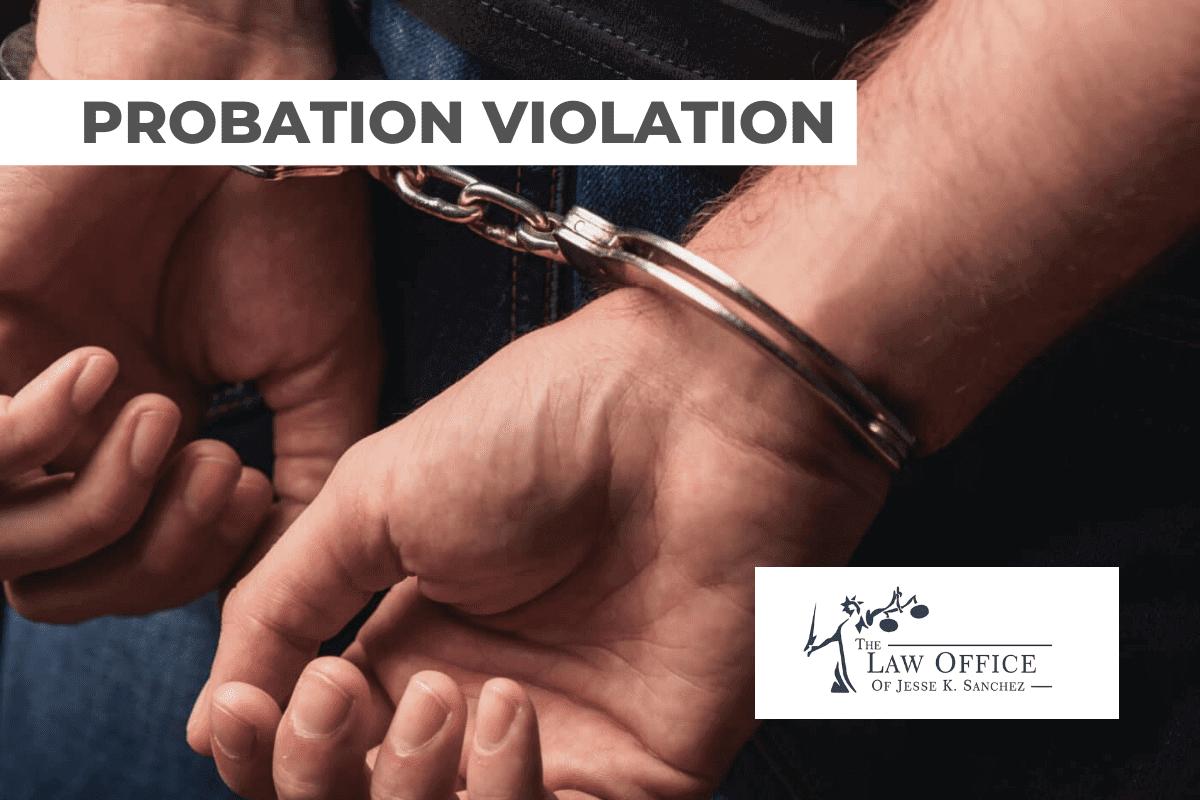 VIOLATION PROBATION FELONY