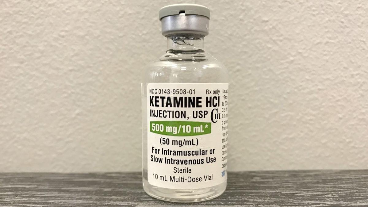 ketamine a controlled substance