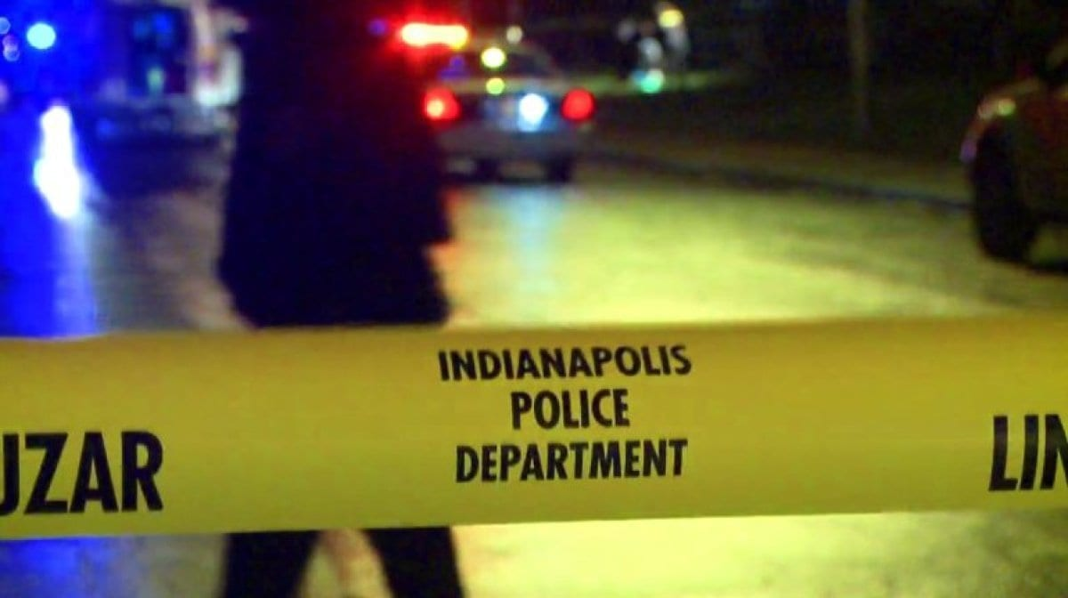 indianapolis police department tape