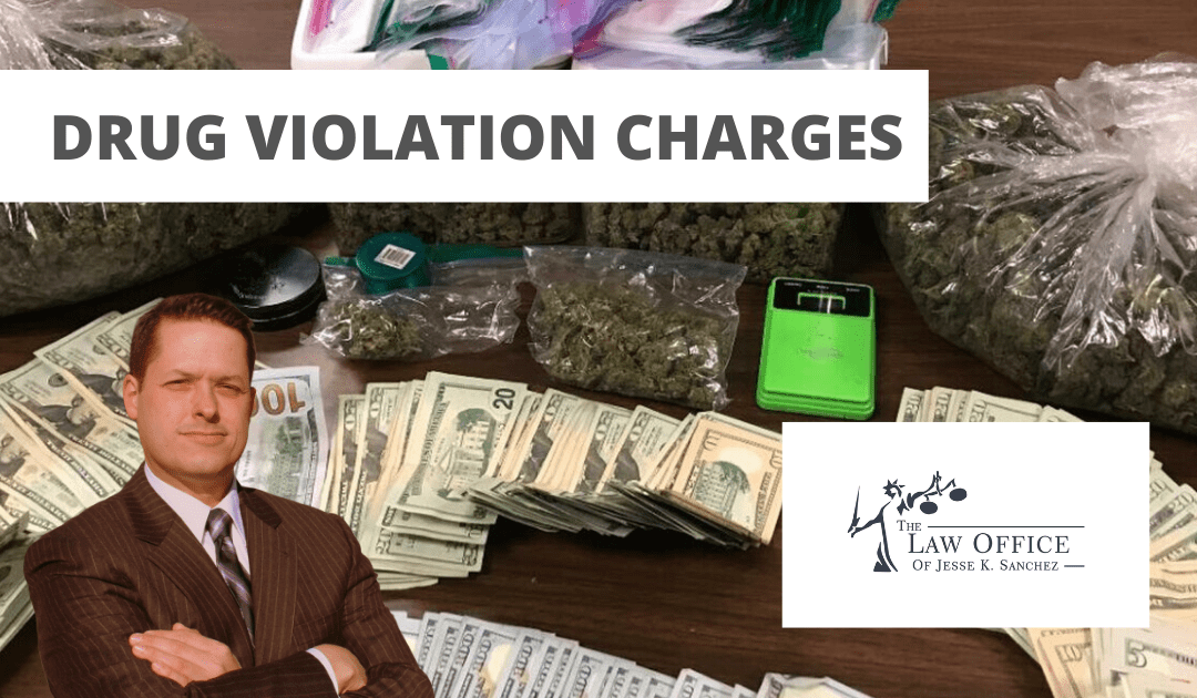 Drug Violations Charges