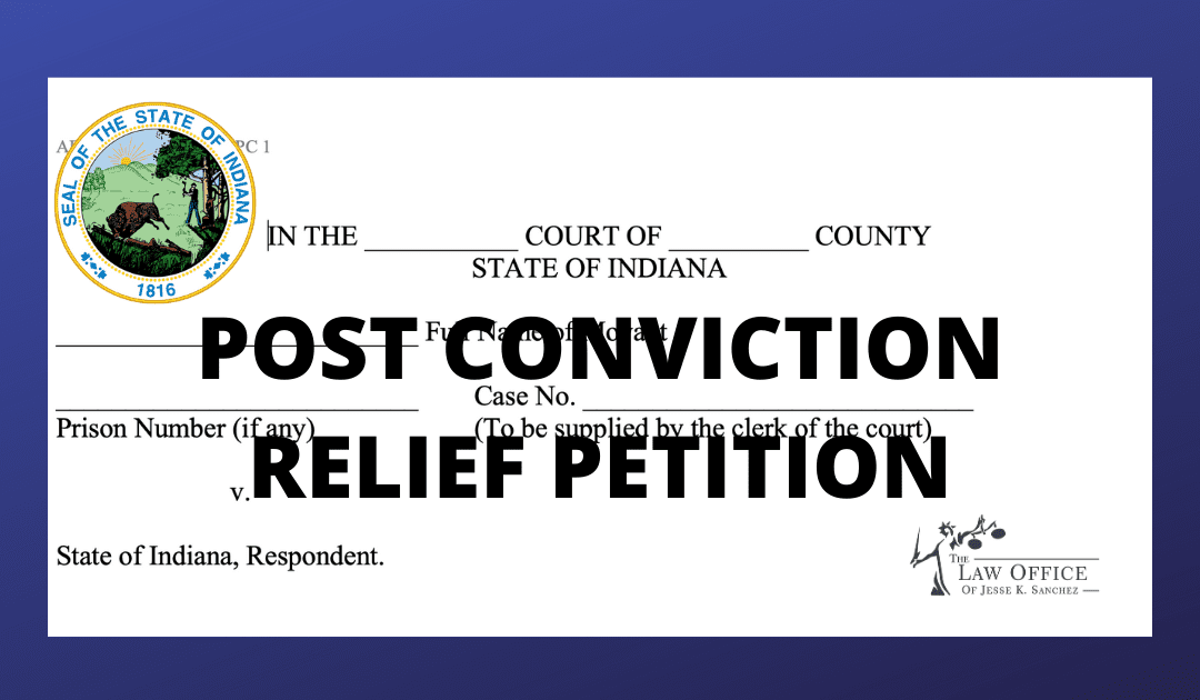 Post Conviction Relief Petition