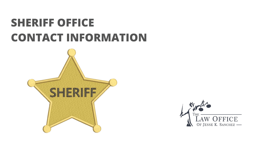 State of Indiana Sheriff Office Contact Information