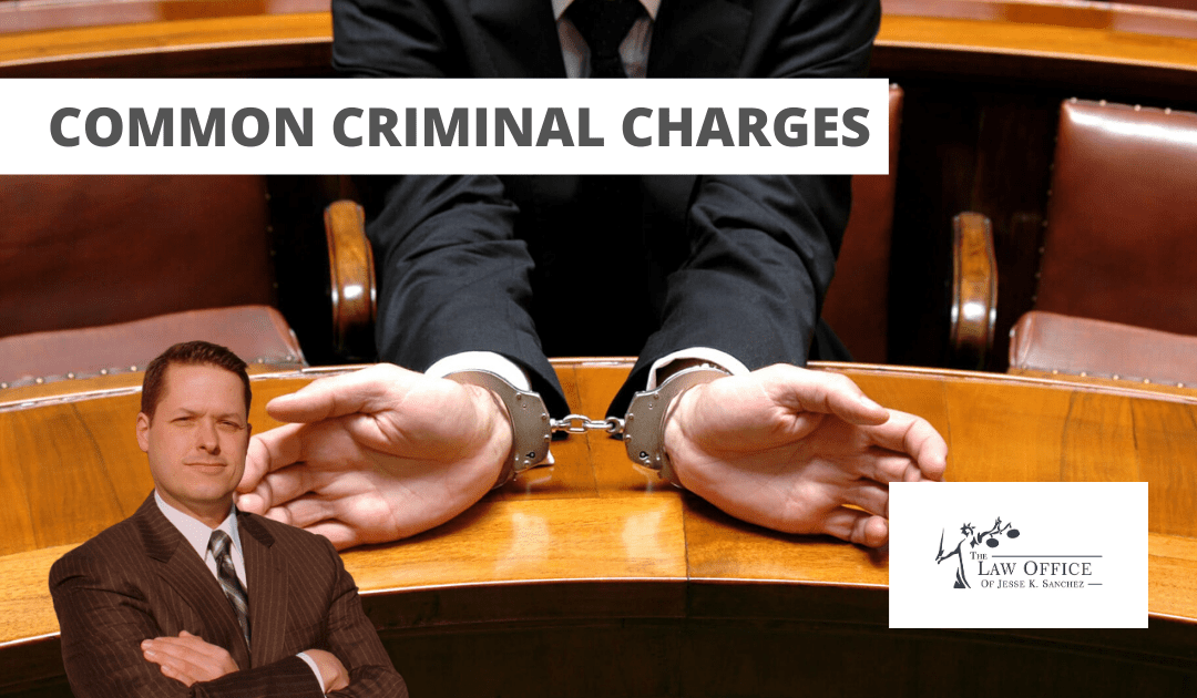 Common Criminal Charges