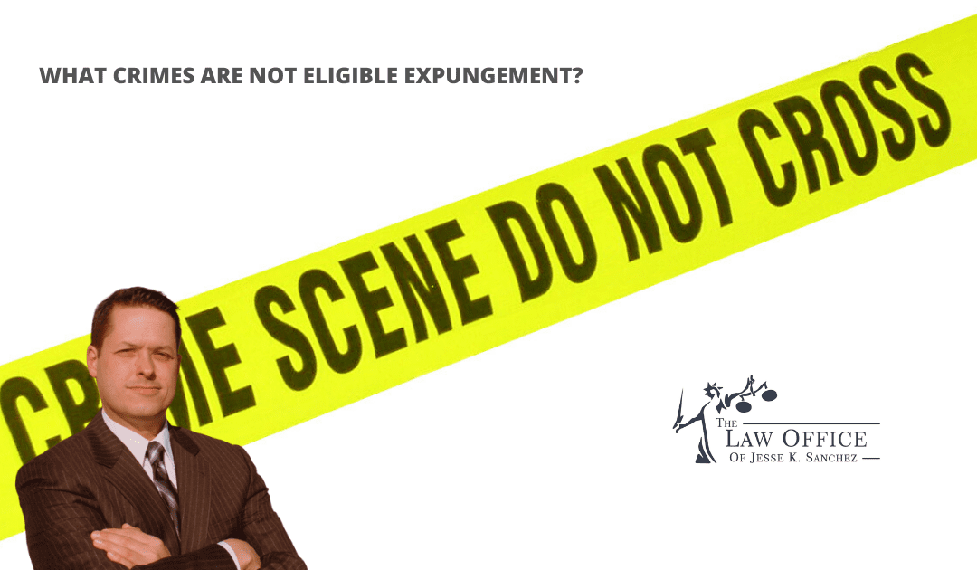 What Offenses are Not Eligible for Expungement in Indiana? – 2020 Update!