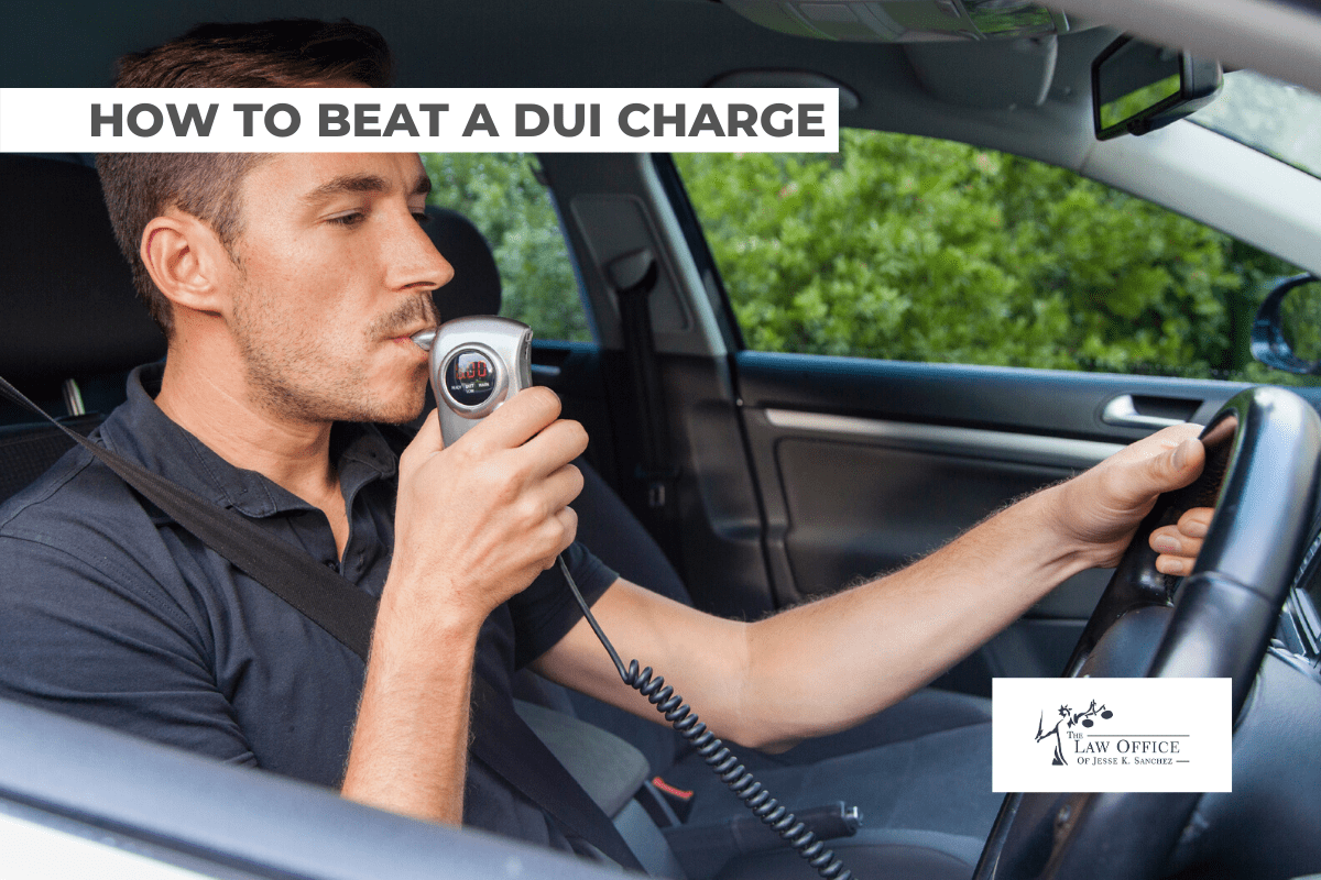 LEARNING HOW TO BEAT A DUI CHARGE